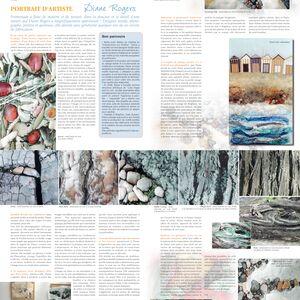 Portrait d'Artiste - Burda Patchwork article
