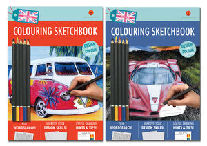 Two new Colouring Sketchbooks