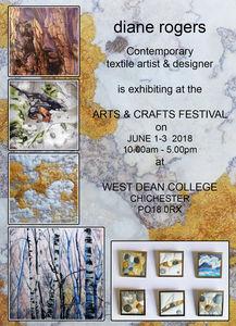 West Dean poster