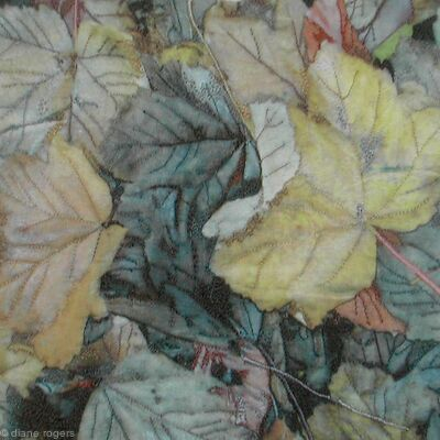 mottled-leaves