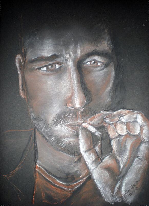 Portrait of Gerard Butler