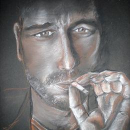 Portrait of Gerard Butler - SA award