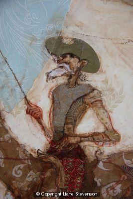 Don Quixote,1, detail.