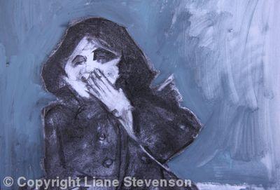 Laughing Girl, detail