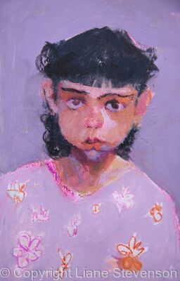 Violet Eyed Girl