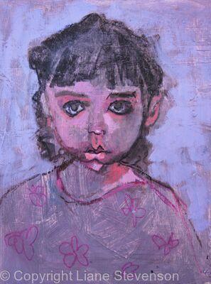 Violet eyed girl.2.