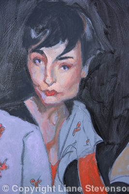 Miss O Connor, detail