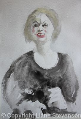 Hilary. watercolour