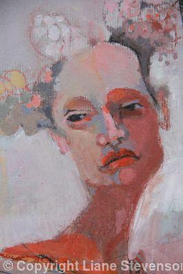 Venetian Girl, detail,2.