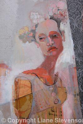 Venetian Girl, detail