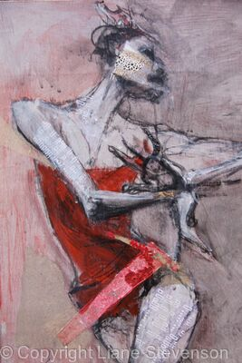 Red Dancer, detail.2