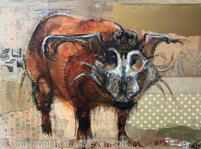 Brown Paper Pig
