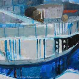 Cumberland Basin, Blue.Detail
