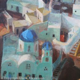 Santorini, 3, detail