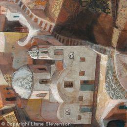 Santorini, 2 detail.