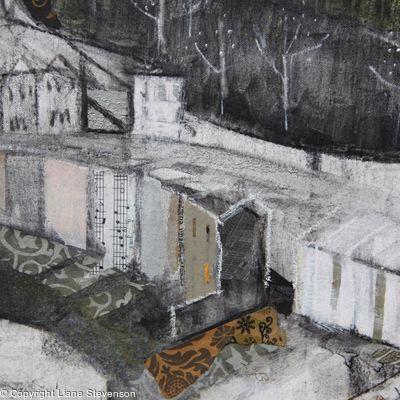 Clifton Gorge, large. detail