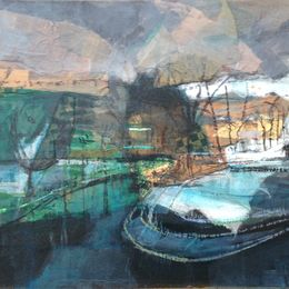 Weir, green and black
