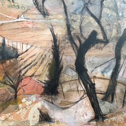 Olive Grove, detail.