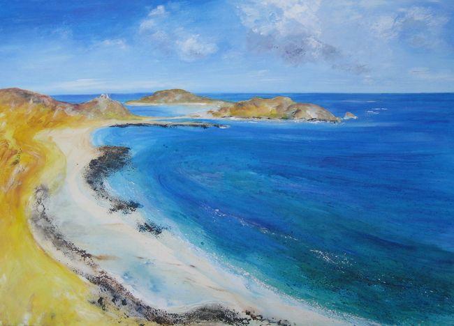 White Island, St Martins