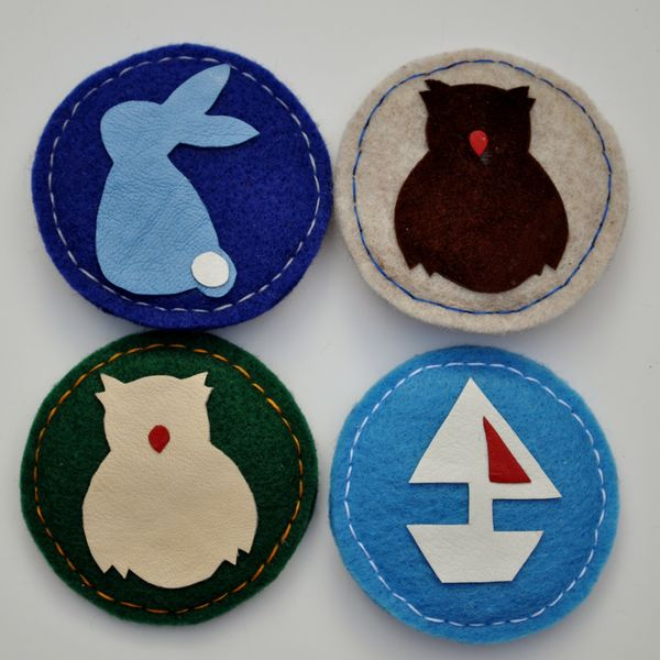4 pack Boy - Bunny, Owlets, Ahoy There!