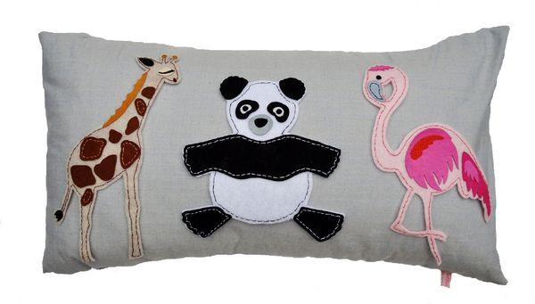 Animal Fair (Panda) Cushion