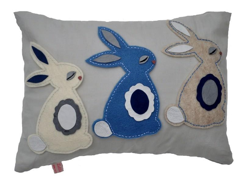 Bunnies - blue