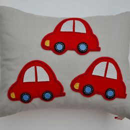 Beep Beep! Red Cushion