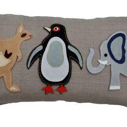 Animal Fair (Penguin) Cushion