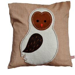 Barn Owlet Cushion