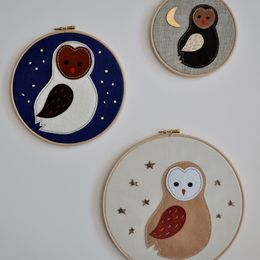 Owlets At Midnight, Wall Adornments