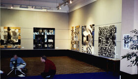 installation view; CAW Gallery Leamington.1998
