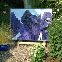 Iris Diptych