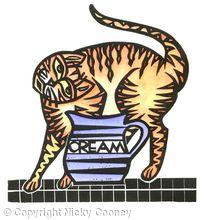 CREAM CAT GINGER