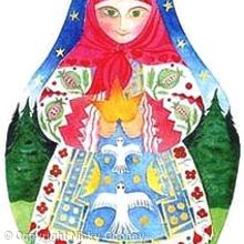 BABUSHKA - Children's book illustration