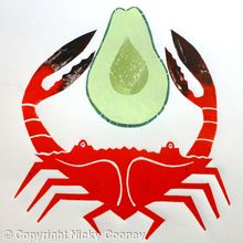CRAB   AVOCADO