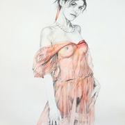Girl In red Chiffon I