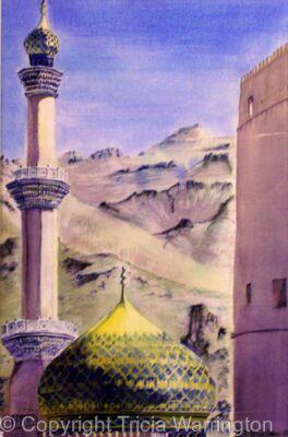 Niswah Mosque Oman