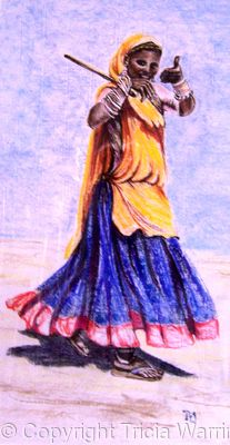 Rabari Woman Rajahstan