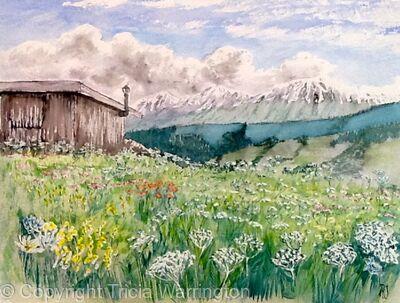Shepherd's Hut, Valloire