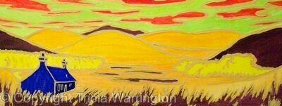 Crofter's Cottage Abstract