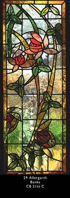 Flowers in Reamy Glass