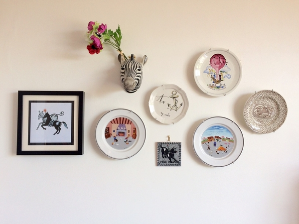 Small collection of plates