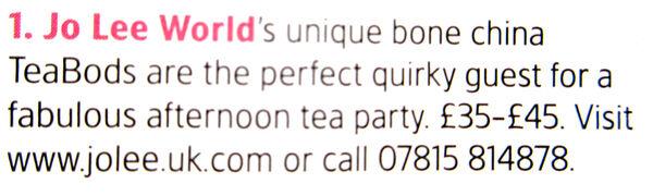 TeaBods in Tatler Sep16