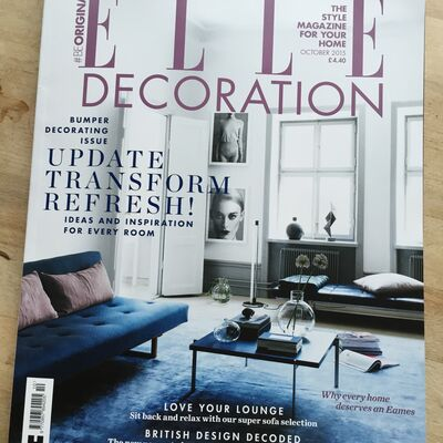 Parallel Life IV in Elle Decoration Oct 2015