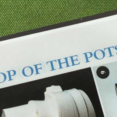 Top Of The Pots, World Of Interiors Feature, April 2016