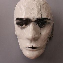 Recall (wall-mounted Fine Art Mask)