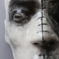 Wired (wall-mounted Fine Art Mask(
