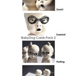 BabyDog Cards Pack 2