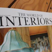 World Of Interiors August 2015 Issue - the BabyDogs are in!