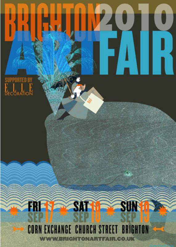 BRIGHTON ART FAIR 2010 - Poster
